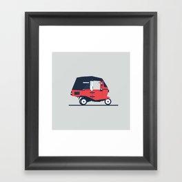 Bajaj Framed Art Print