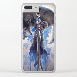 Artorias and Sif Clear iPhone Case