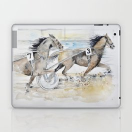 trotting race Laptop & iPad Skin