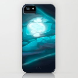 Secret Crystal iPhone Case