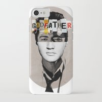 godfather iPhone & iPod Cases featuring Godfather Mix 2 white by Marko Köppe