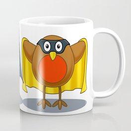 Bat and Robin Coffee Mug