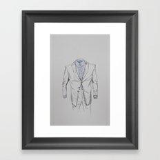 Male Specimen I Framed Art Print