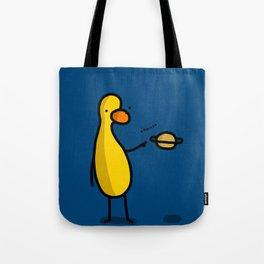 Saturn Duck   Veronica Nagorny Tote Bag