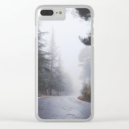 Dream forests. Into the foggy woods Clear iPhone Case