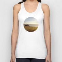 big sur Tank Tops featuring Big Sur Cows by M. Wriston
