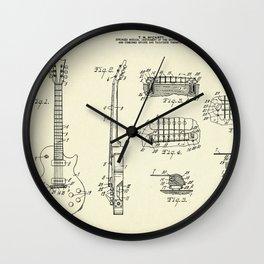 Guitar-1955 Wall Clock