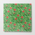 Holly Jolly Christmas Leaves & Berries (Small Pattern) by fickleandfine