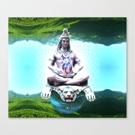 Shiva Absolute Canvas Print