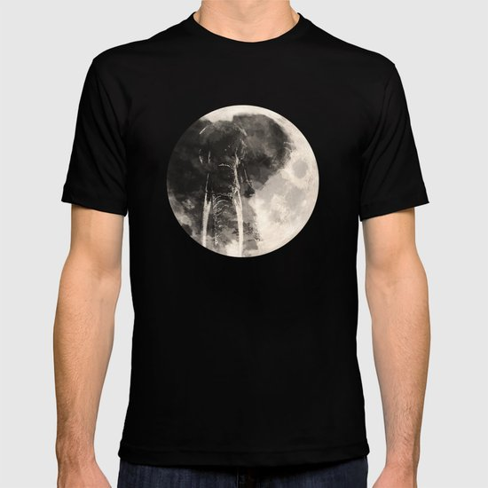 The Elephant in The Moon T-shirt
