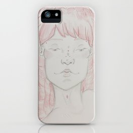 An Angled Portrait iPhone Case