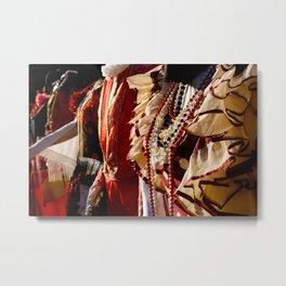 """""""Trajes de Flamenca"""" Metal Print"""