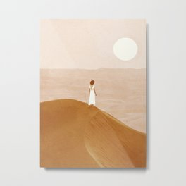 Endless Dunes Metal Print