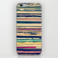 vinyl iPhone & iPod Skins featuring Vinyl  by Laura Ruth