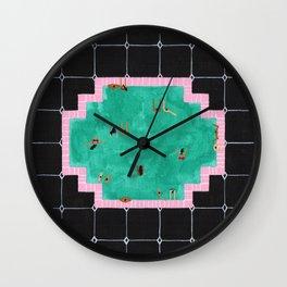 Gatsby pool Wall Clock