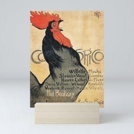 Cocorico by Theophile Steinlen, 1899 Mini Art Print