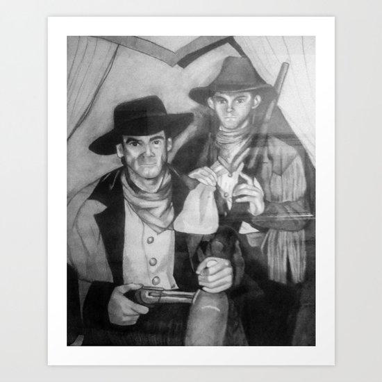 2 Billys Art Print