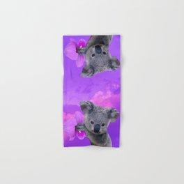 Koala and Orchid Hand & Bath Towel