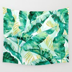 Banana leaf Wall Tapestry