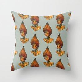 lava fairy Throw Pillow