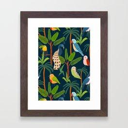 Jungle Birds Framed Art Print