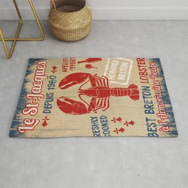 Le St-Jacques Lobster Shack Rug