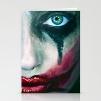 joker Stationery Cards featuring Joker by Imustbedead