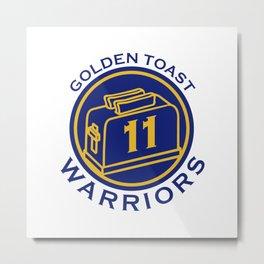 Golden Toast Warriors Metal Print