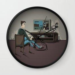 Pixel Gaming Wall Clock