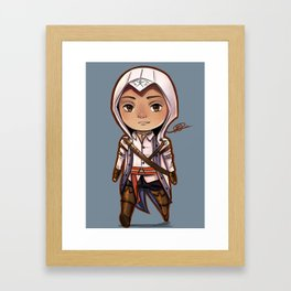Assassin's Creed Connor Kenway Chibi Framed Art Print