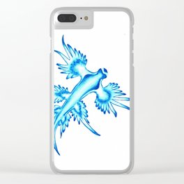 Glaucus Atlanticus Clear iPhone Case