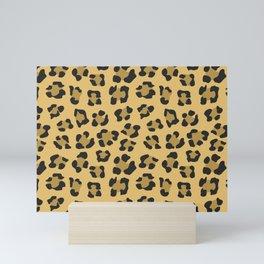 Leopard Print - Wild Anmals skin Mini Art Print
