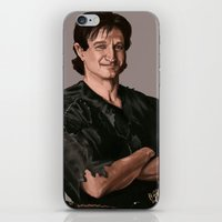 robin williams iPhone & iPod Skins featuring Robin Williams by MagnoliaRuby
