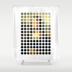 Pop art shower curtains society6 for Mona lisa shower curtain