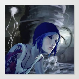 Chloe and The Storm Canvas Print