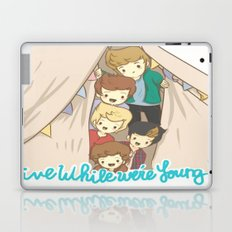 One Direction Live Like We're Young Cartoon 2 Laptop & iPad Skin