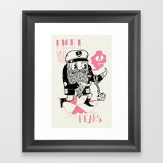 Fight Your Fears Framed Art Print