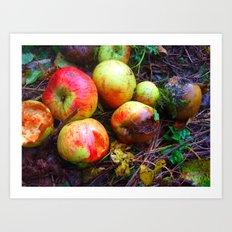 Apple of the Eye Art Print