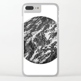 Moving Mountains | Rocky Mountains Clear iPhone Case