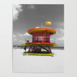 South Beach Life Poster