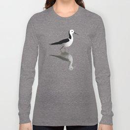Pied Stilt Long Sleeve T-shirt