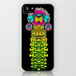 Love me give me a home indoors popart iPhone Case