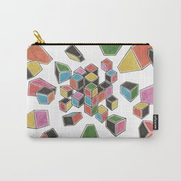Exploded Rubik's Cube Carry-All Pouch