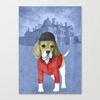 beagle Canvas Prints featuring Beagle by Barruf