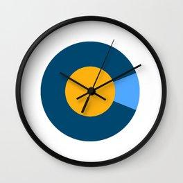 Colorado Logo - Nuggets Wall Clock