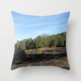 el Teide - Tenerifa Throw Pillow
