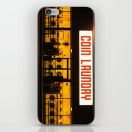 Coin Laundry iPhone Skin