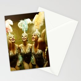 1950's Showgirls Stationery Cards