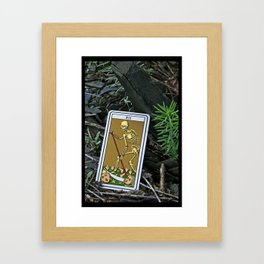 Death Framed Art Print