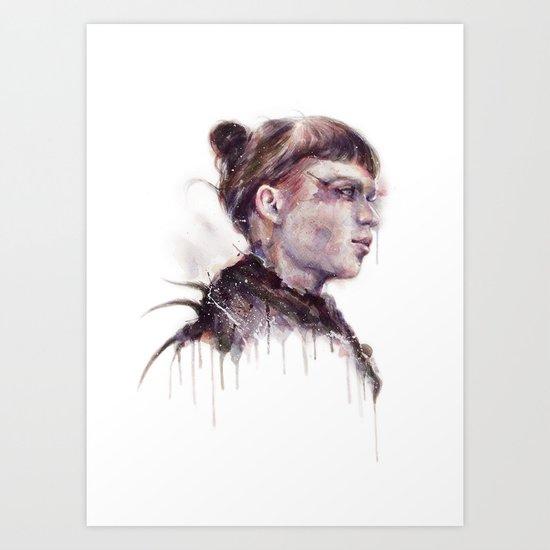 Grimes II Art Print